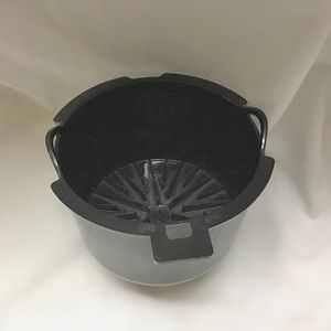 Mr. Coffee 4 Cup Brew Basket Filter Only Black DR4